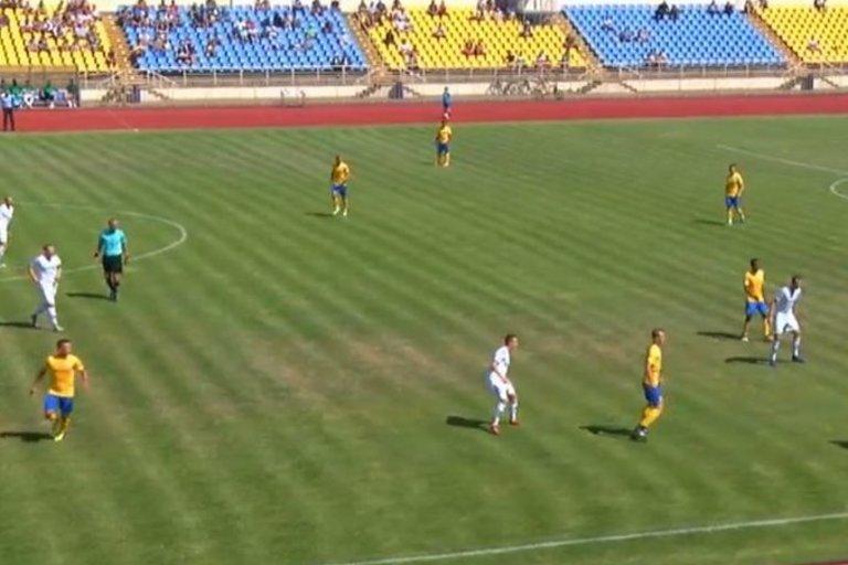 Rungtynių akimirka (nuotr. stop kadras)
