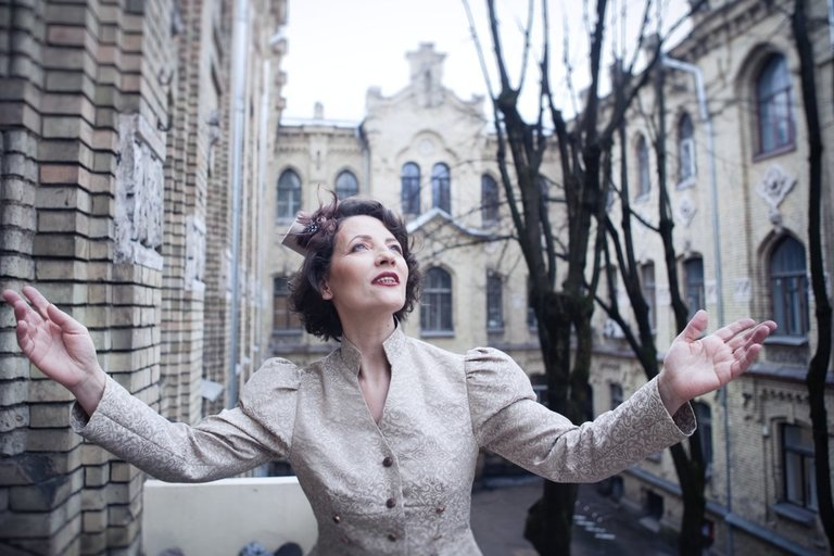 """""""Naujojo teatro"""" įkūrėja Svetlana Šulc. Ingos Dingos nuotr."""
