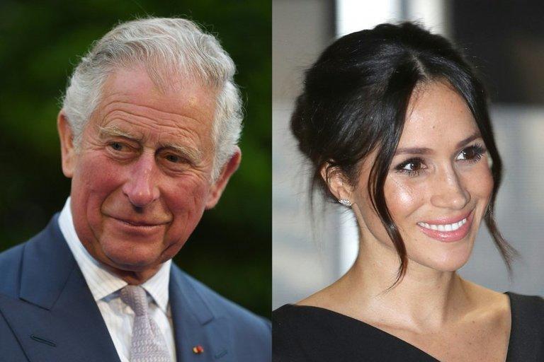 (Princas Čarlzas ir Meghan Markle (nuotr. SCANPIX)