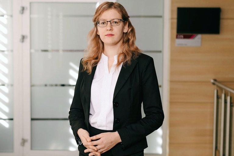 """""""Sodros"""" Statistikos, analizės ir prognozės skyriaus patarėja Kristina Zitikytė. """"Sodros"""" archyvo nuotr."""