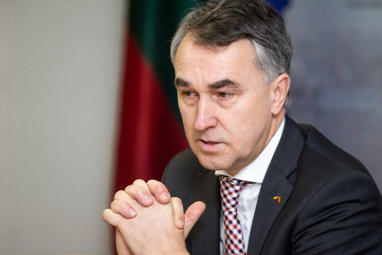 Susitikimas su Petru Auštrevičiumi (nuotr. Fotodiena/Justino Auškelio)