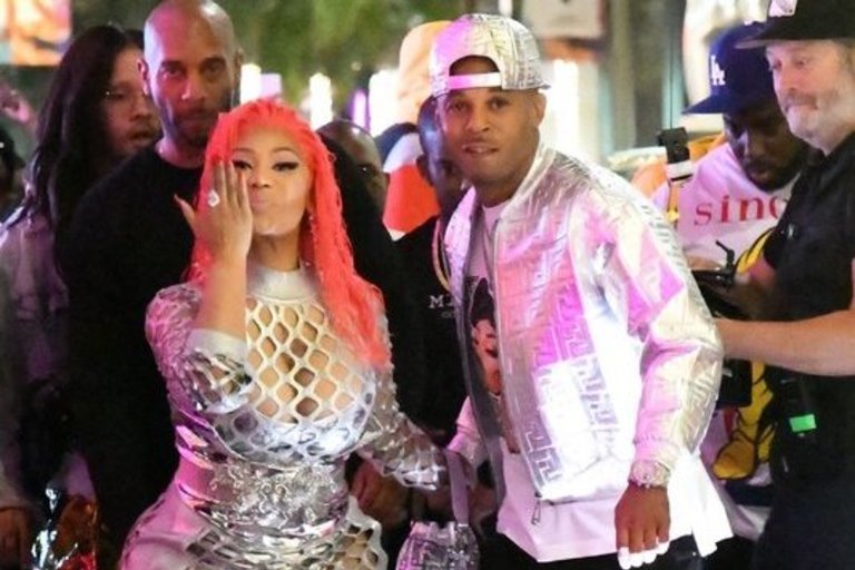 Nicki Minaj ir Kenneth Petty (nuotr. Vida Press)