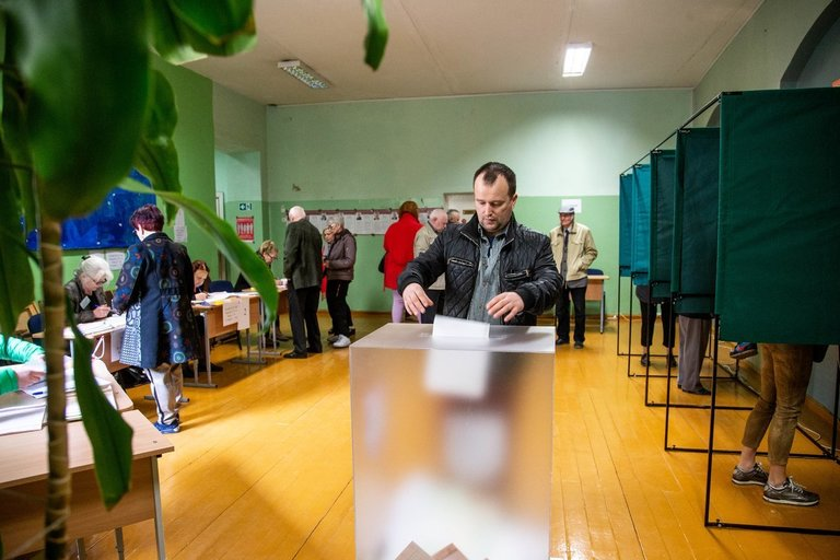 Rinkimai (asociatyvi nuotr. Fotodiena/Justino Auškelio)