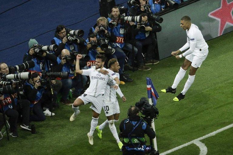 "PSG – ""Liverpool"" rungtynių akimirka (nuotr. SCANPIX)"
