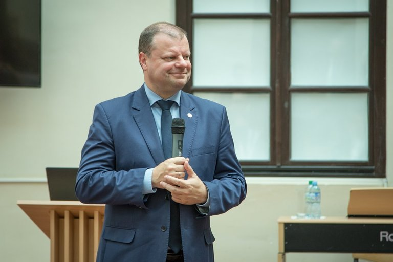 S. Skvernelis (nuotr. LRVK | Darius Janutis)