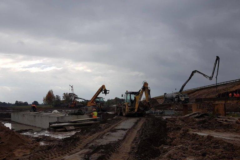 Magistralės Via Baltica rekonstrukcijos darbai