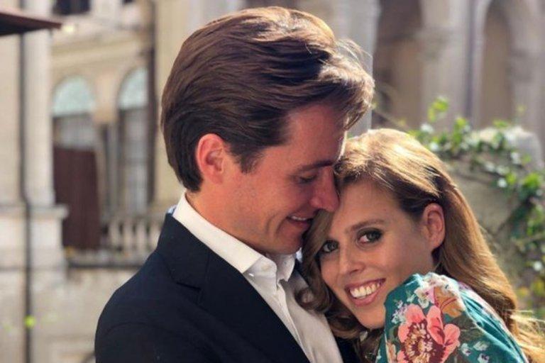Edoardo Mapelli Mozzi ir princesė Beatričė (nuotr. SCANPIX)