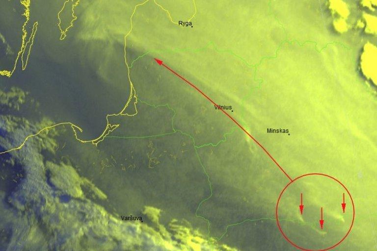 Įspėja dėl artėjančių dūmų – venkite buvimo lauke (nuotr. Meteo)