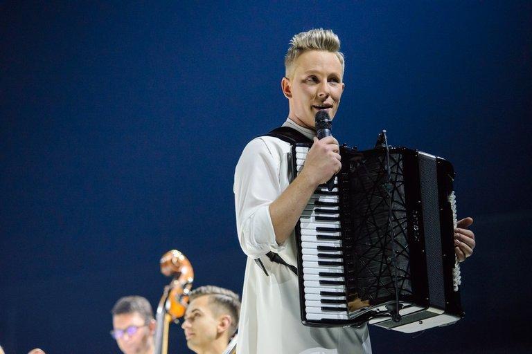 "Akordeonisto Martyno Levickio koncertų turas ""365"" (nuotr. Eimanto Genio)"