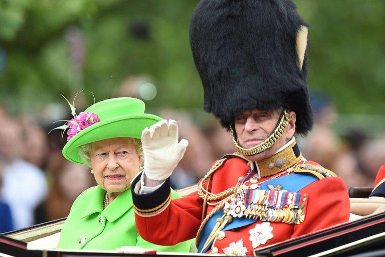 Karalienės Elizabeth II 90-ojo gimtadienio karinis paradas (nuotr. Vida Press)