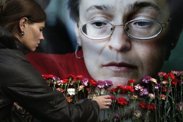A. Politkovskaja (nuotr. SCANPIX)
