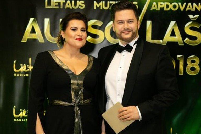 Erika ir Merūnas Vitulskiai (Teodoras Biliūnas/Fotobankas)