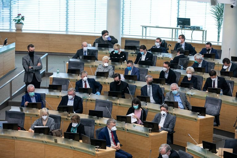 Seimo posėdis (Paulius Peleckis/Fotobankas)