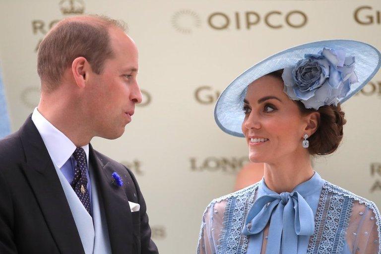 Princas Williamas ir Kate Middleton (nuotr. SCANPIX)
