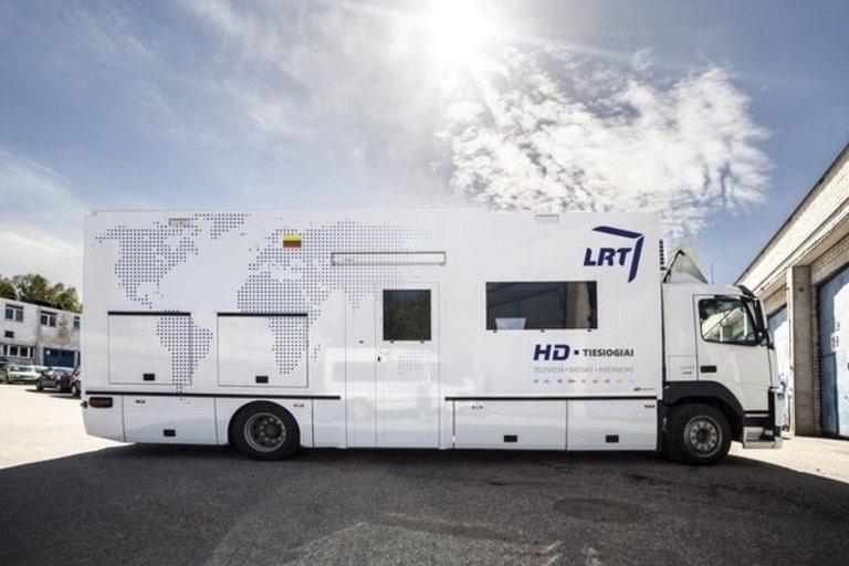 LRT kilnojama televizijos stotis (nuotr. bendrovės)