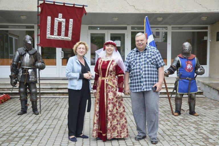 Gintautas Paltanavičius dalyvauja Trakuose vykstančiose šventėse. (nuotr. asm. archyvo)