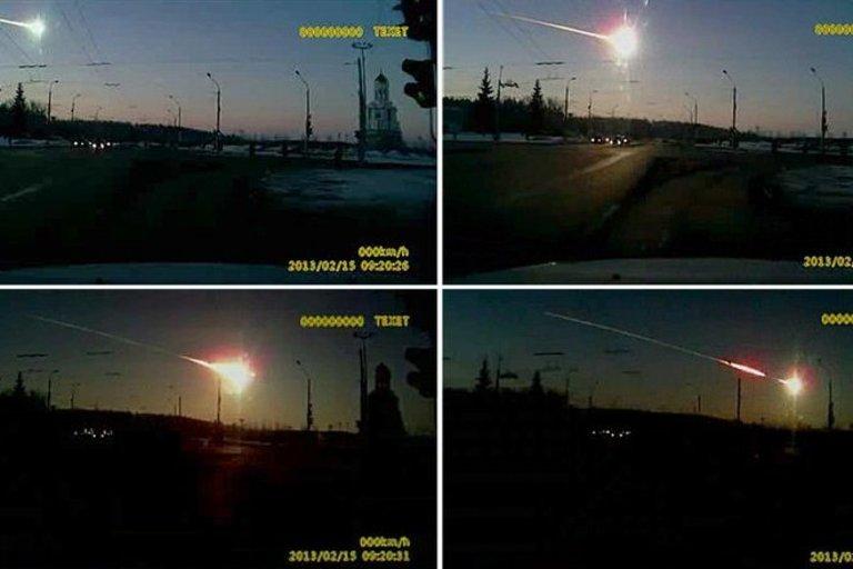 2013-ųjų meteoritas, sprogęs virš Čeliabinsko (nuotr. SCANPIX)