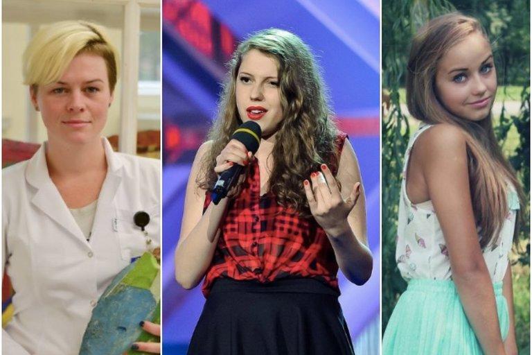 Giedrė, Monique, Iglė (tv3.lt fotomontažas)