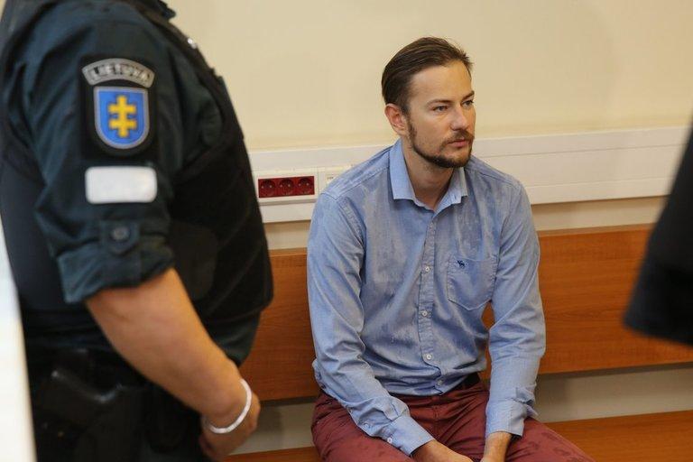 Šarūnas Narbutas teisme (nuotr. tv3.lt)