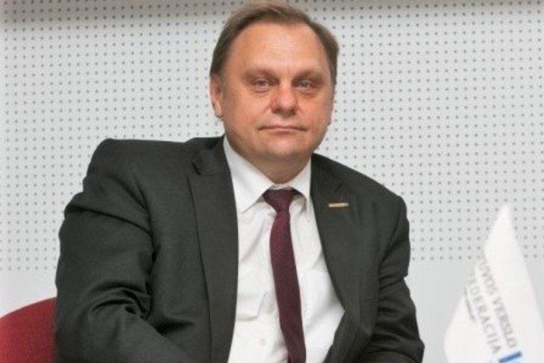 Valdas Sutkus, Lietuvos verslo konfederacijos prezidentas (nuotr. bendrovės)