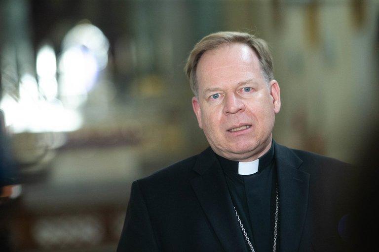 Arkivyskupas Gintaras Grušas (nuotr. Fotodiena/Justino Auškelio)
