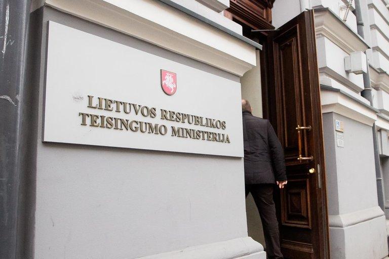 Lietuvos Respublikos Teisingumo ministerija (nuotr. Tv3.lt/Ruslano Kondratjevo)