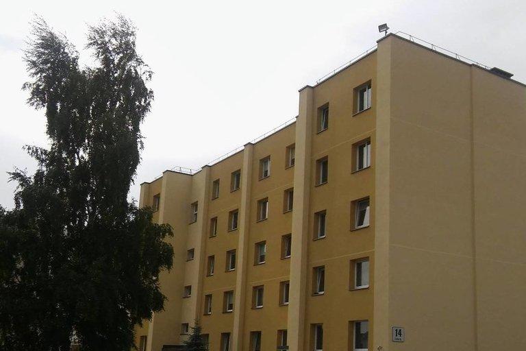 Renovuoto namo gyventojai nekantraudami laukia kvartalinės modernizacijos