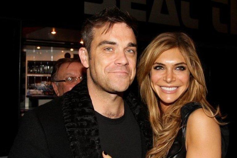 Robbie Williamsas su žmona Ayda Field (nuotr. SCANPIX)
