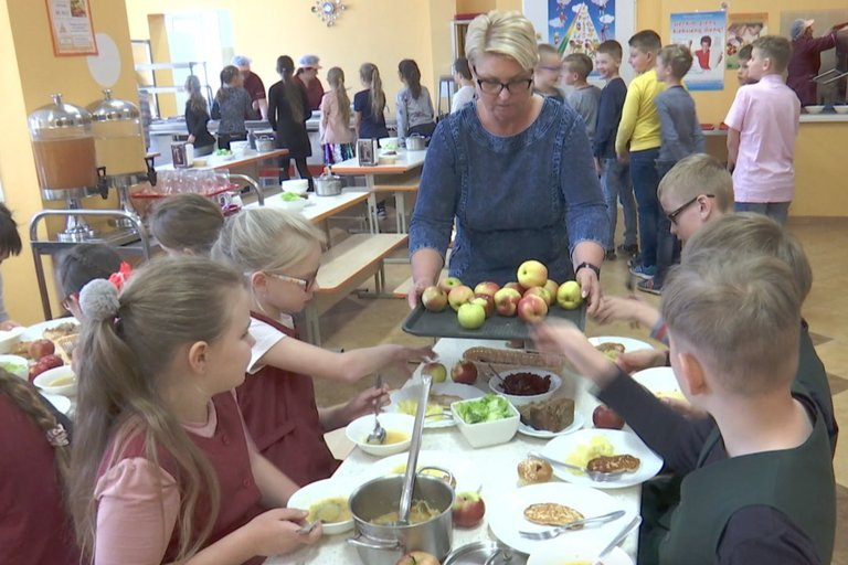 Švediški stalai mokyklose (nuotr. TV3)