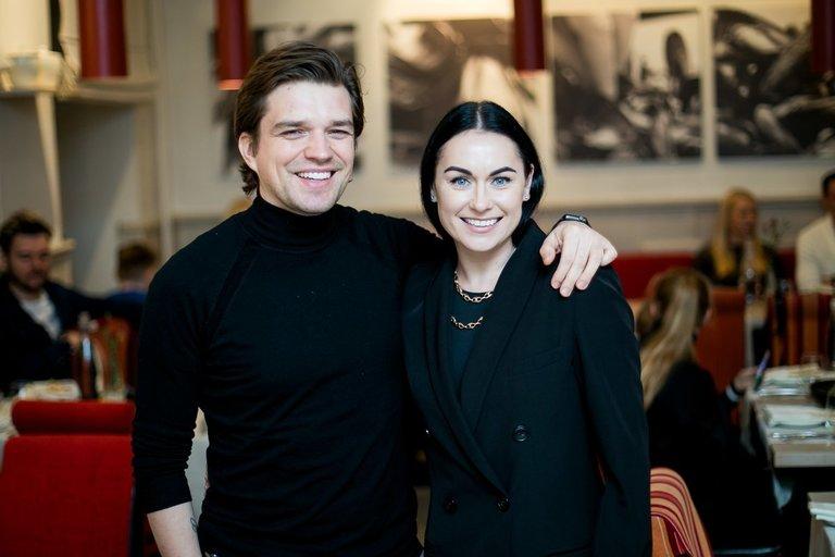 Jonas Nainys su žmona (nuotr. Organizatorių)