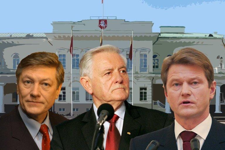 Artūras Paulauskas, Valdas Adamkus ir Rolandas Paksas (tv3.lt fotomontažas)