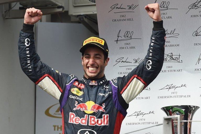 D. Ricciardo (nuotr. SCANPIX)