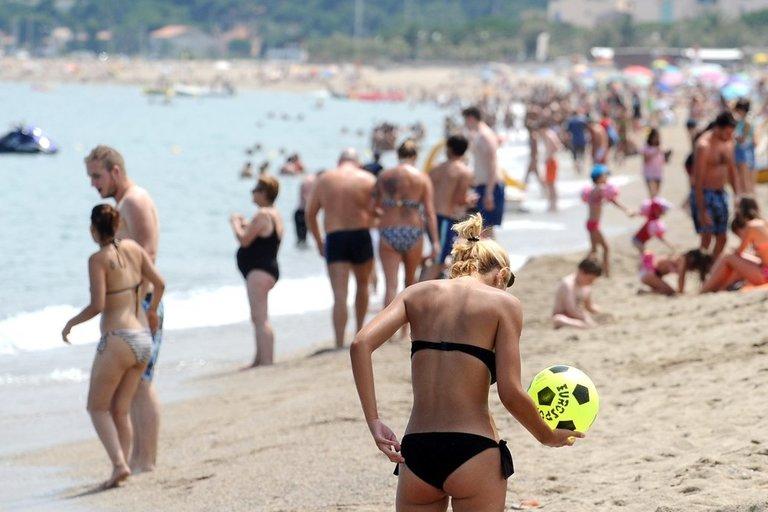 Paplūdimyje (nuotr. SCANPIX)