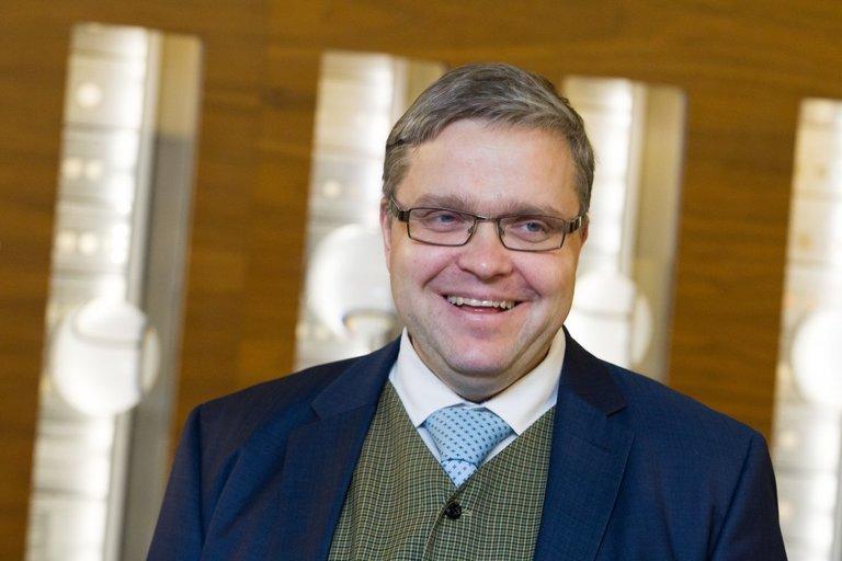 Lietuvos banko (LB) vadovas Vitas Vasiliauskas Vygintas Skaraitis/Fotobankas