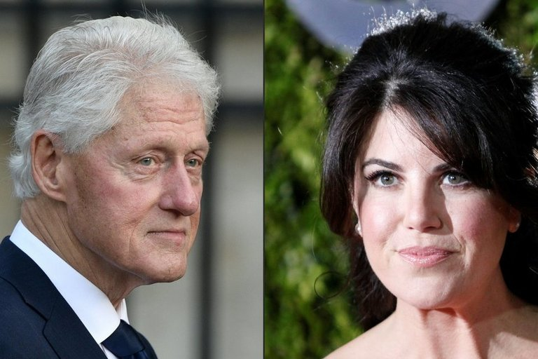 Bill Clinton ir Monica Lewinsky (nuotr. SCANPIX)