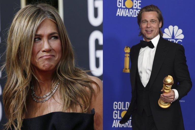 Jennifer Aniston ir Bradas Pittas (nuotr. SCANPIX)