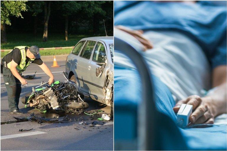 Specialistas įvardijo, kokios motociklininkų klaidos gali prišaukti nelaimę (tv3.lt fotomontažas)