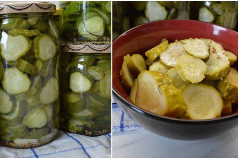 Saldžiai rūgštūs agurkėliai