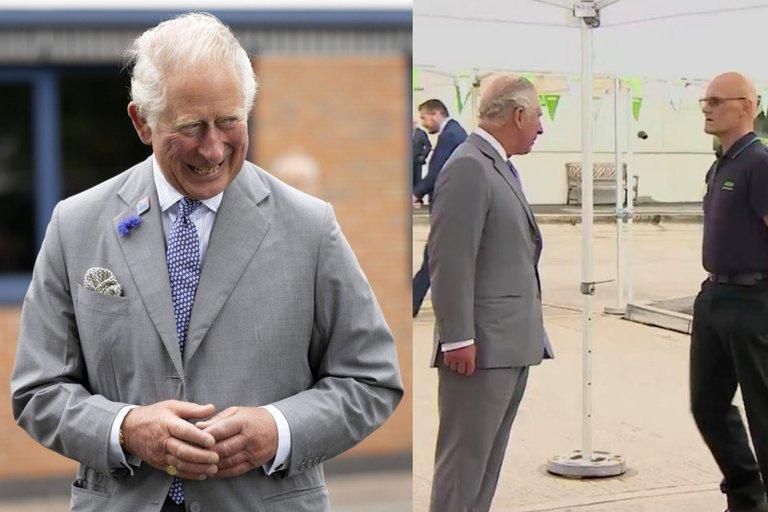 Su princu Charlesu susitikęs vyras nualpo (nuotr. SCANPIX) tv3.lt fotomontažas