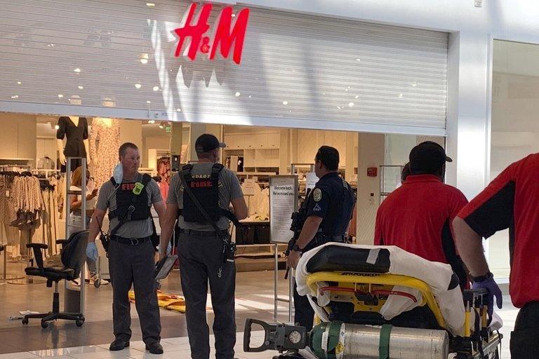 Per šaudynes prekybos centre nušautas 8 metų vaikas, sužeisti 3 žmonės (nuotr. SCANPIX)
