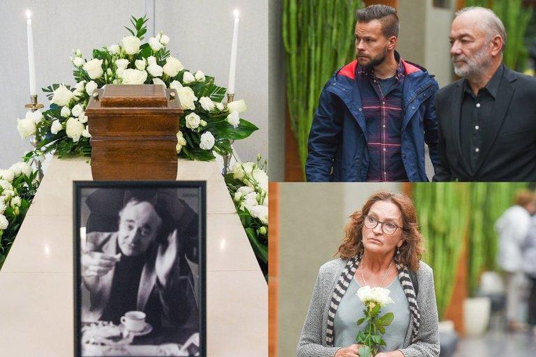 Lietuva atsisveikina su legendiniu aktoriumi: plūsta šeima ir draugai (nuotr. Fotodiena/Justino Auškelio)