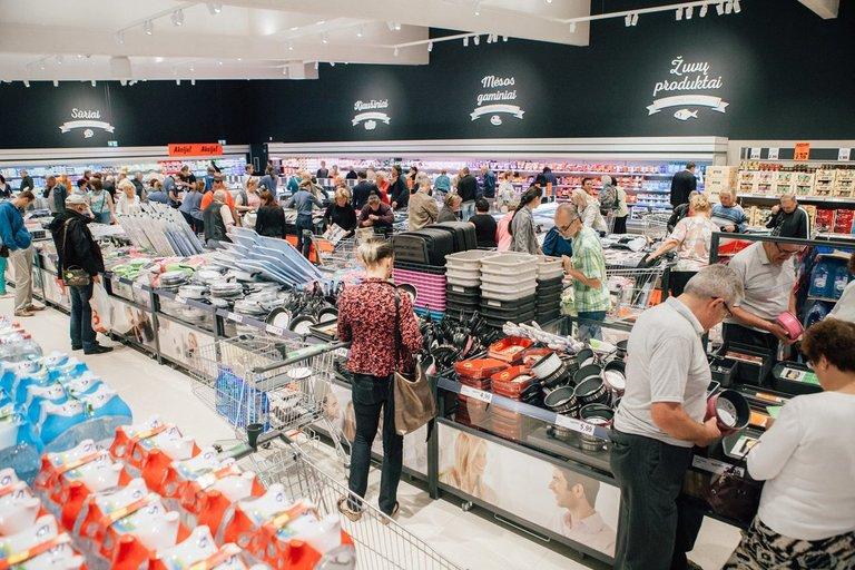 """""""Lidl"""" parduotuvės (nuotr. Organizatorių)"""