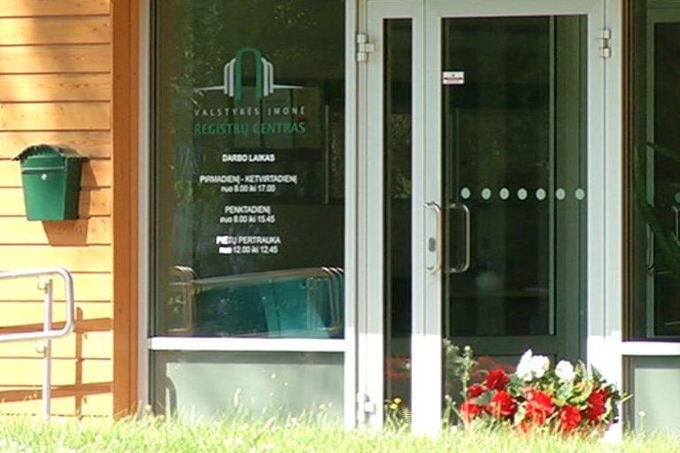 Registrų centras (nuotr. TV3)