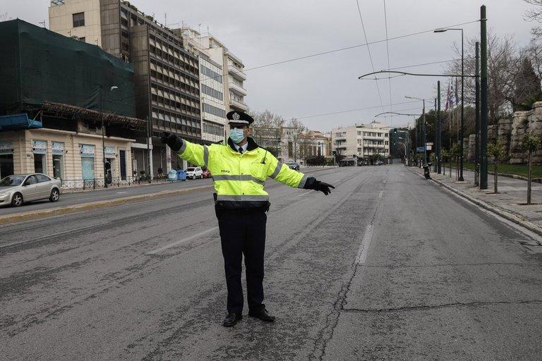 Graikijos policija (nuotr. SCANPIX)