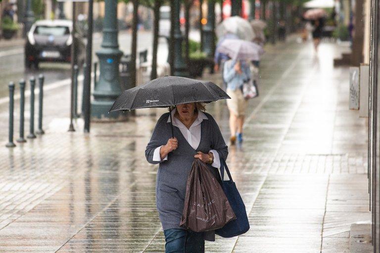 Vasariškas lietus (nuotr. J. Auškelis)
