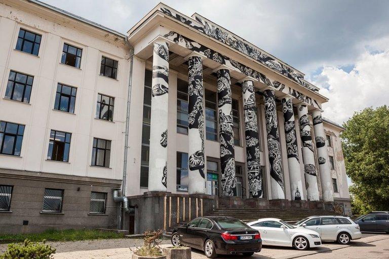 Vilniaus Profsąjungų rūmai. (nuotr. Vilniaus miesto savivaldybės)