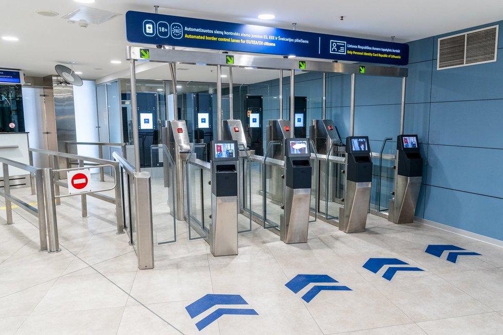 Vilniaus oro uosto naujovė (bendrovės nuotr.)
