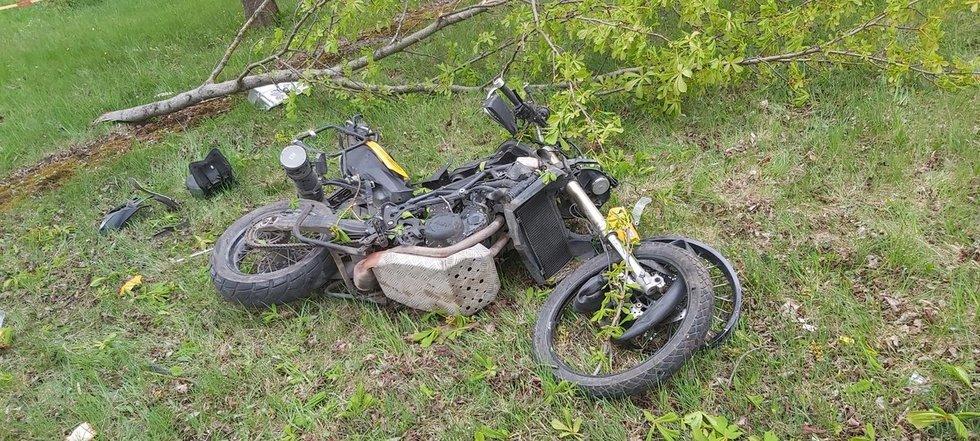 Šiauliuose žuvo motociklininkas (nuotr. Egidijus Anglickis/TV3)