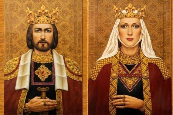 Karalius Mindaugas ir Karalienė Morta