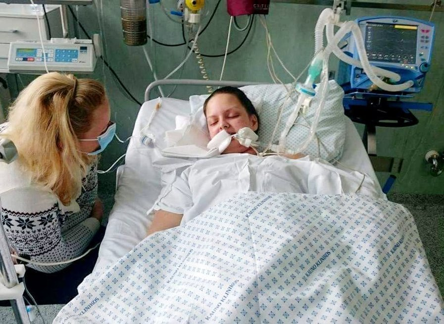 Meningokoko siaubą per Kalėdas išgyvenusi Aurelija: mane nuo mirties skyrė vos 4 valandos